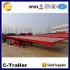 used truck trailer price,international semi trailer,,Flatbed Transport Semi Trailer