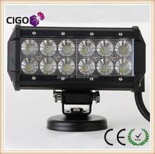 High quality 4*4 36w light bar led 12v