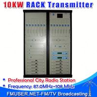CZH618F-10KW Professional FM Radio Station Software 10000w radio broadcast FM transmitter exciter-RC