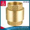 high pressure of spring loaded forged brass non-return valve