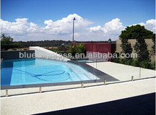 6mm 8mm 10mm ultra clear glass tempered glass pool fencing