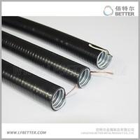 25mm PVC coated galvanized steel pipe conduit flexible Metal accordion conduit