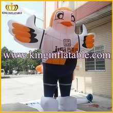 Customized Inflatable Animal Model For Promotion, New Inflatable Owl Cartoon
