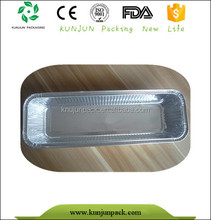 healthy disposable aluminum foil container for loaf pan