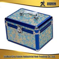 High quality aluminium multi-functional makeup case, delicate and practical storage case with lock, beautiful photo album case