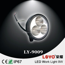 12v 24v led working light 3inch 9w led work light for vehicle,atvs,trucks,bus