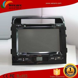 Wecaro Android Double Din Car Gps Dvd For Toyota Land Cruiser With Bluetooth Usb SD Radio TV