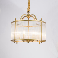 Fresh American Style Pure Copper Pendant Lighting For Dinning Room