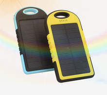 Top Selling Solar USB Charger 5000mah, CE FCC ROHS Solar Charger, Portable Solar Power
