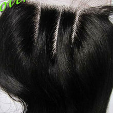 virgin 3 part closures ,full lace hair pieces with children human hair