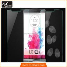 Anti fingerprint Anti oil 2.5d arc edge tempered glass screen protector for lg g3