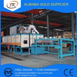 Electric LPG and Gas fired Aluminum Log Shear Heat Treatment Furnace