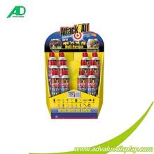 Professional fabricante ondulado indicação do contador de papelão varejo exibição bandeja bandeja pdq