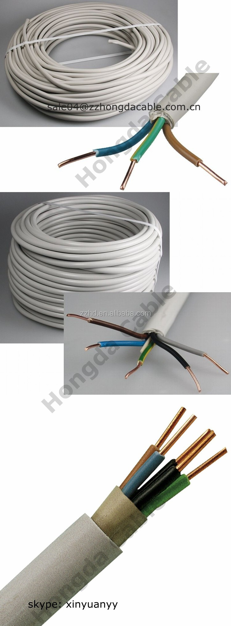 3 nym j pvc insulated pvc sheath cca conductor cable buy 3 nym j pvc insulated. Black Bedroom Furniture Sets. Home Design Ideas