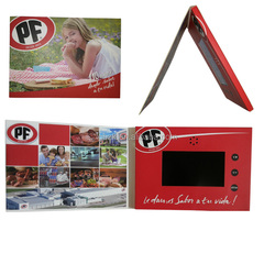Factory directly customed promotional paper digital photo frame