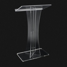 Commercial furniture acrylic pulpit,clear acrylic church pulpit,stand up acrylic podium pulpit lectern