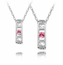 N2871 2012 Austrian crystal lovers necklace with Austria pop elements,women necklace