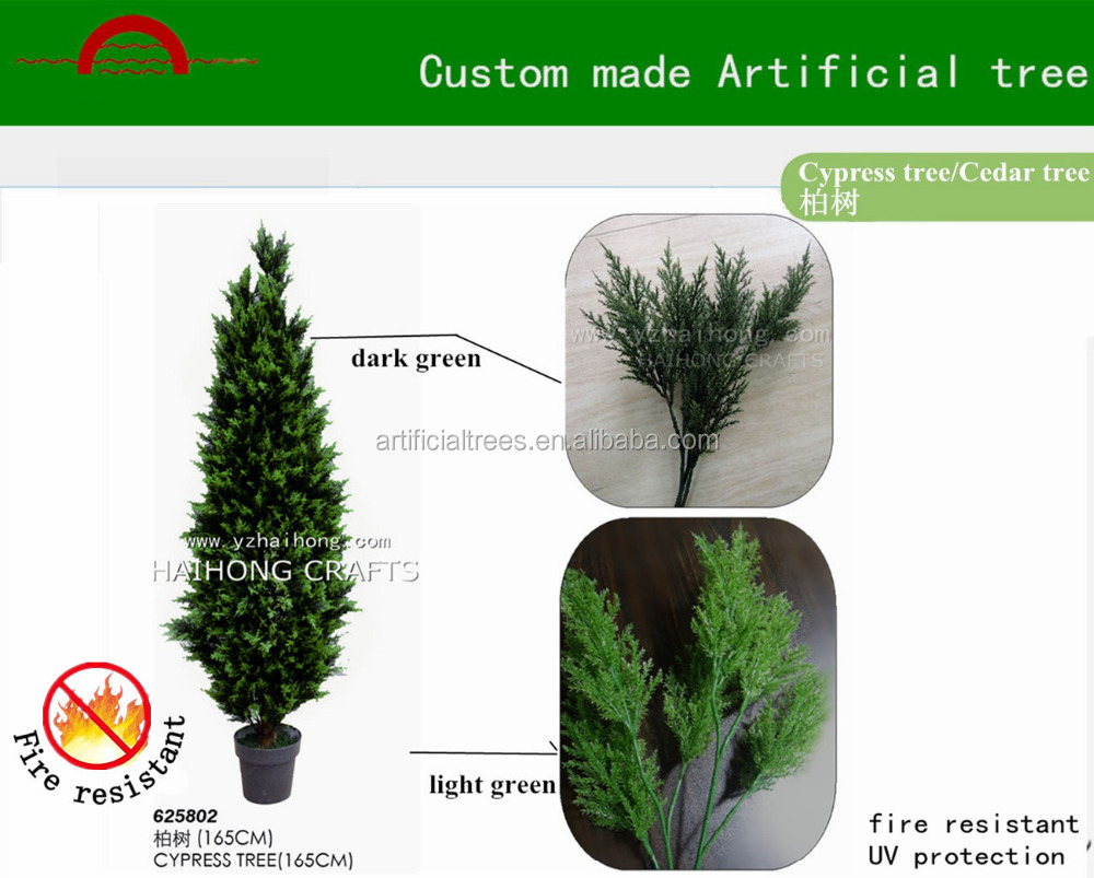 Manufacture High Quality Cypress Tree Custom Made
