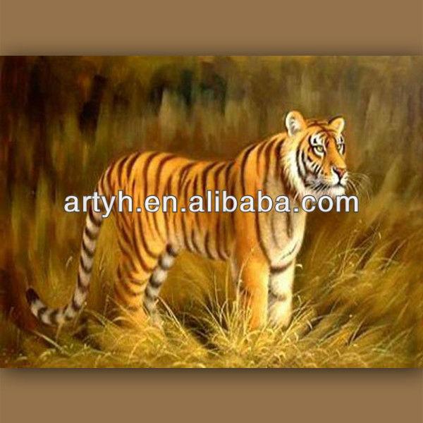 современный тигр ручной работы картины худоёников галерея