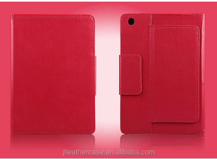 For New Apple iPad 2 3 4 5 Stand Leather Case Cover With wireless Bluetooth Keyboard Red