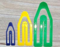 Color plastic Paper clip