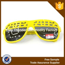 Yellow carnival festival party decoration rave sunglasses supplier