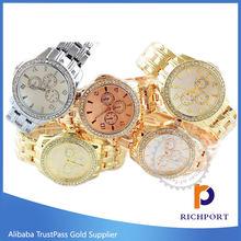Six Hands SS Quartz Watch, Stainless Steel Band Watch