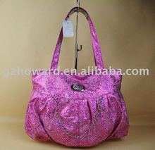 flash pink lady handbag