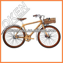 2015 High Quality Mountain Bikes large diameter tuble bike frame bamboo bicycle