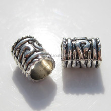 2015 lastest antique silver charms beads for jewelry making