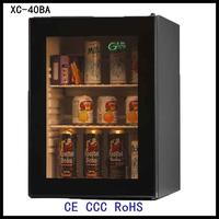 XC-40BA glass door micro freezer