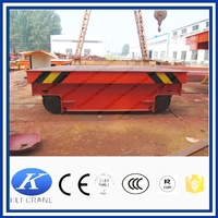 Warehouse use material transfer vehicle