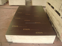 phenolic glue, hardwood core,tego brown/black/red film faced plywood for concrete formwork