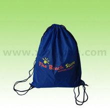 Poliéster Mochila con cordón azul