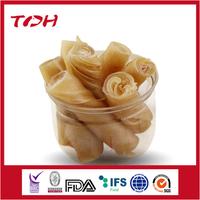 Twisted Rawhide Roll dog food tube