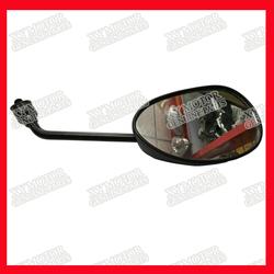 Original Motorcycle Mirrors Black, Genuine Mirrors for Motorcycle, Stardard Black Motorcycycle Mirrors