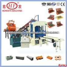 QT4-15D Block forma la máquina