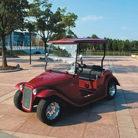 custom electric vintage 4 seats golf carts for sale DN-4D with CE certificate