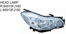 For subaru xv 2012- headlight tail lamp/front rear bumper/grille