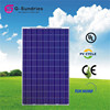 Fine workmanship best quality polycrystalline 250w 120v solar panel