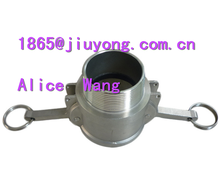stainless steel quick coupling Type B Female cam to male thread