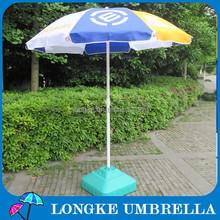 100cm radius Oxford fabric advertising beach umbrella sun umbrella