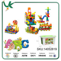 LASY Eco-Friendly Plastic DIY Toy Block Set