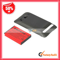 For HTC EVO 4G Extended Battery With Battery Cover Red (82006593)