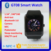 Hot best Bluetooth Android gt08 Smart Watch, Smart Watch For All Android Smart Watch Phone, Touch screen Multi-Languages