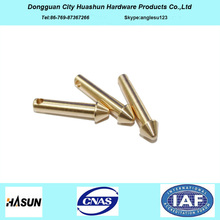 Electronic Component Brass Test Pogo Pin, Pogo Pin Connector
