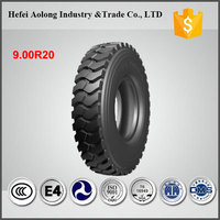 China famous brand radial 9.00x20 truck tires / 9.00r20 tires