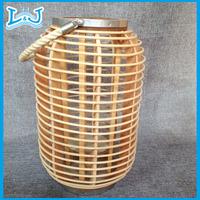 bamboo lantern handcraft decoration