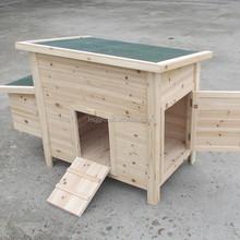 outdoor wooden chicken coop hen house