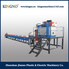 Vertical type silicone extrusion line